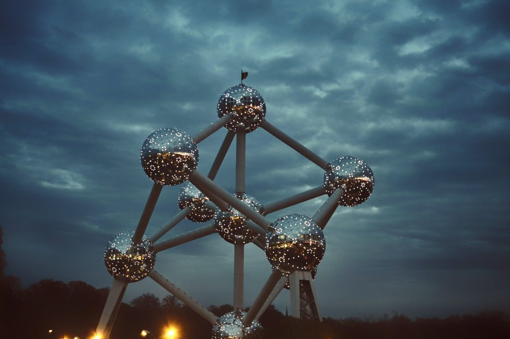 Atomium dark - Discover the architectural side of Brussels