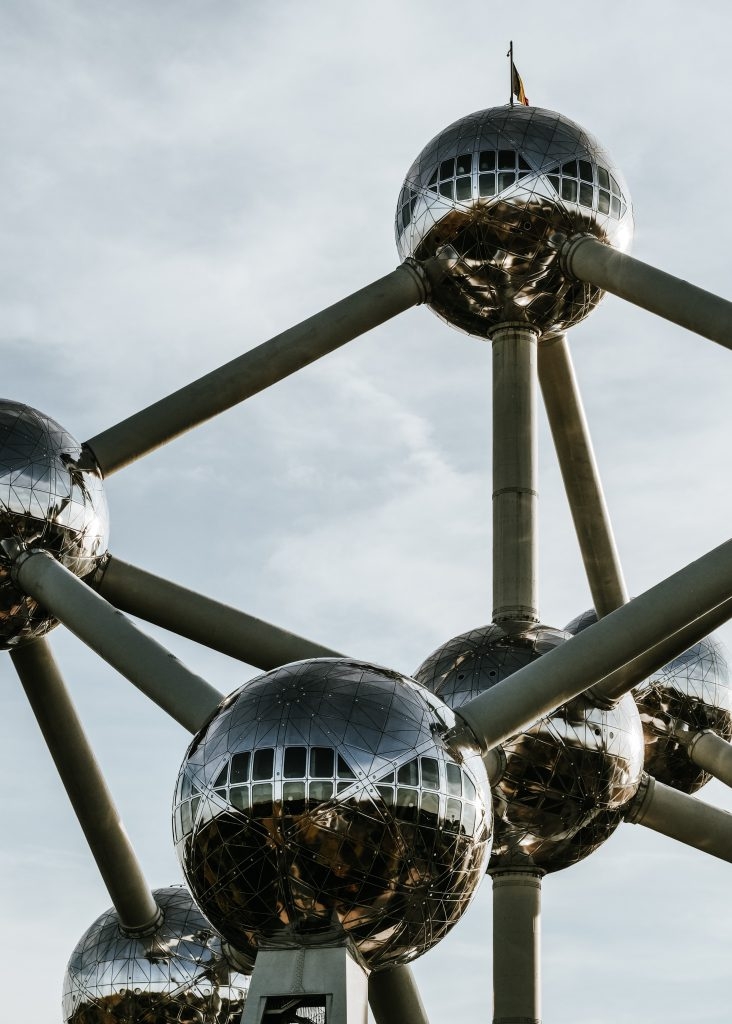Atomium detail - Discover the architectural side of Brussels