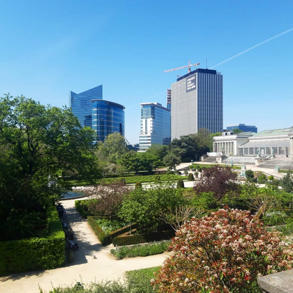Botanique park - Best parks and gardens to picnic in Brussels