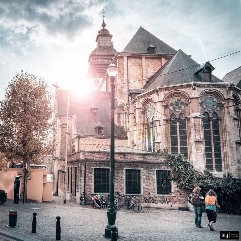 Chapel Church - Discover the architectural side of Brussels