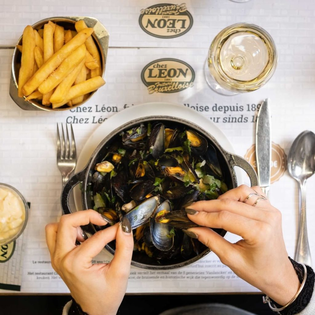 Chez Leon Moules - A local guide to the best restaurants in Brussels