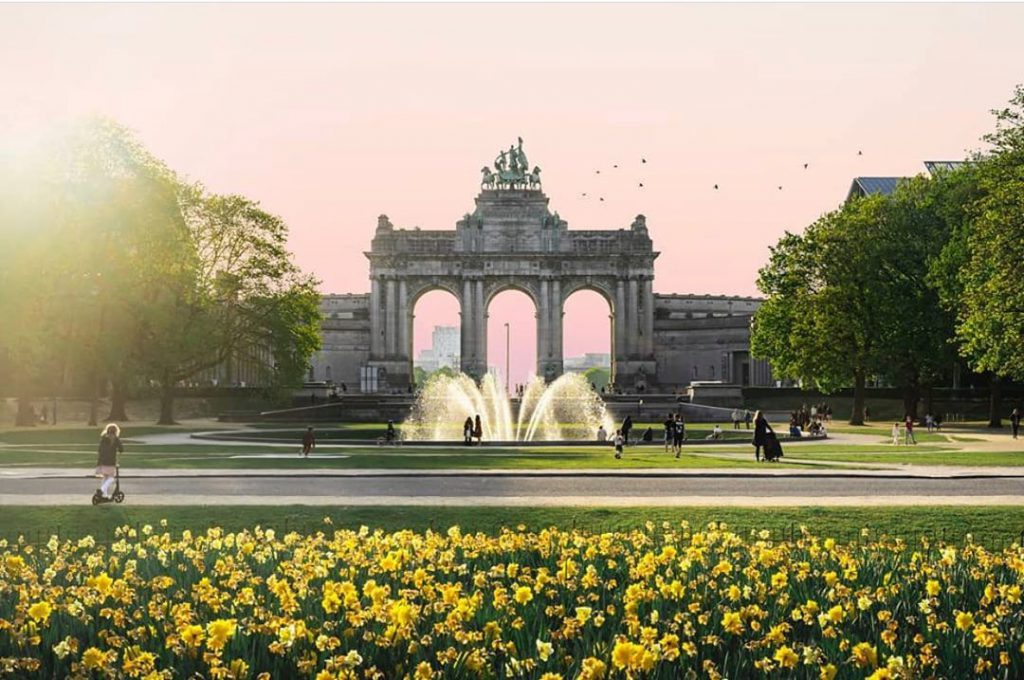 Cinquantenaire - Best parks and gardens to picnic in Brussels