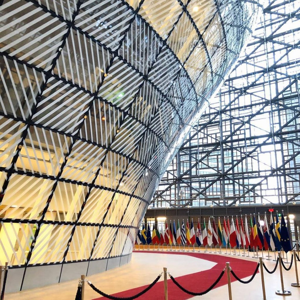 Council of the European Union inside - Discover the architectural side of Brussels