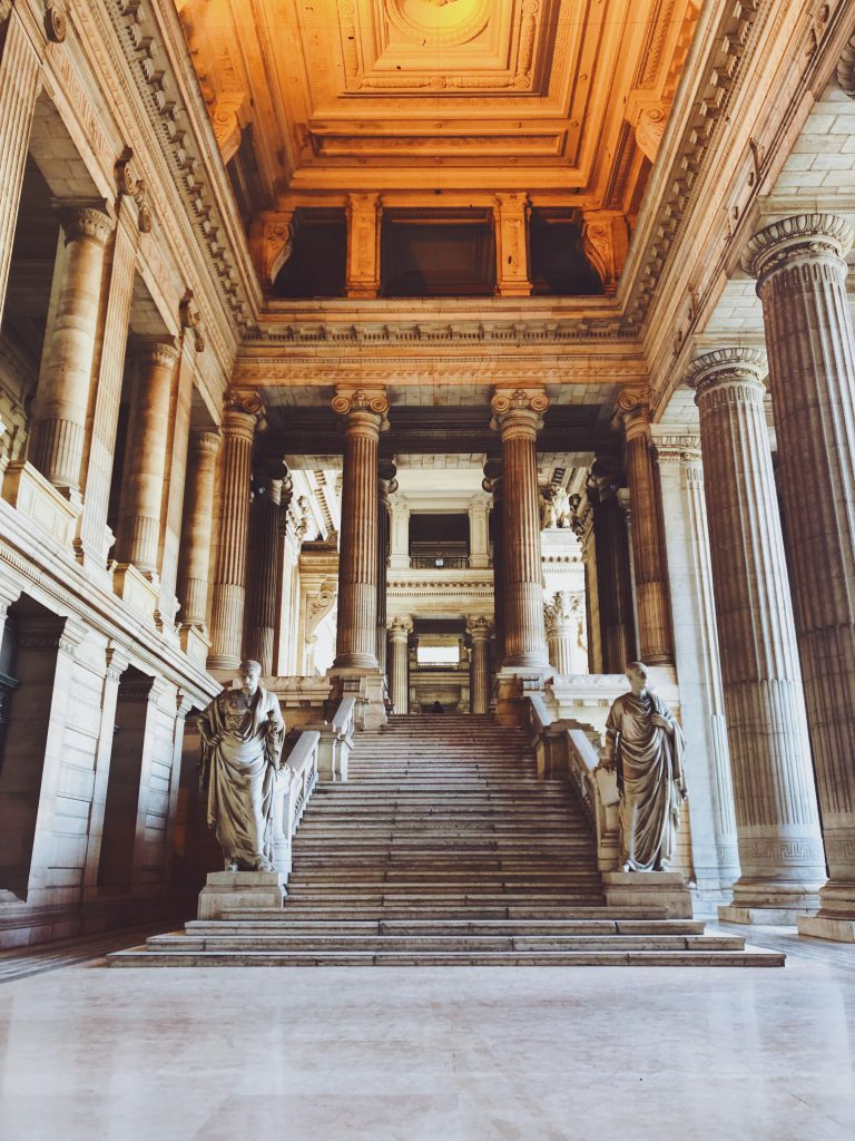 Palace of Justice of Brussels inside - Discover the architectural side of Brussels