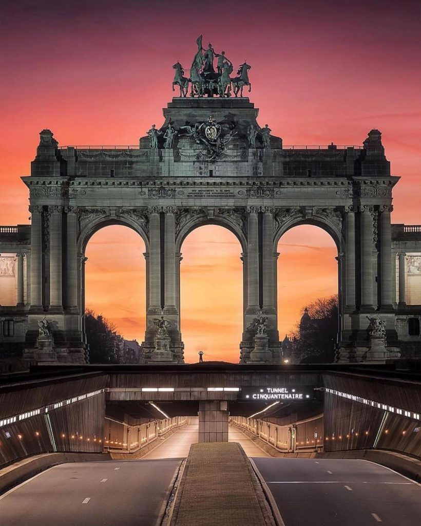 Park du Cinquantenaire - Best parks and gardens to picnic in Brussels