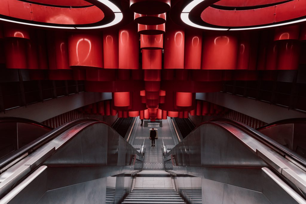 Pannenhuis metro station, Brussels