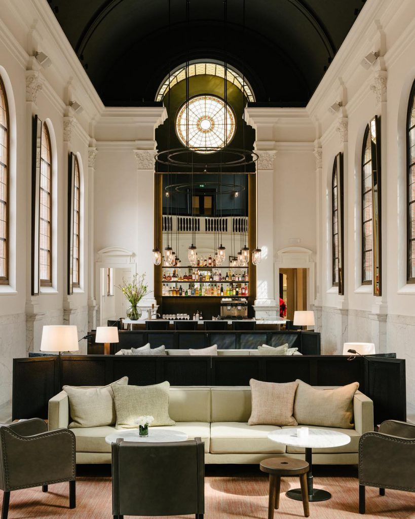 Hotel August Lobby - Best hotels for your stay in Antwerp