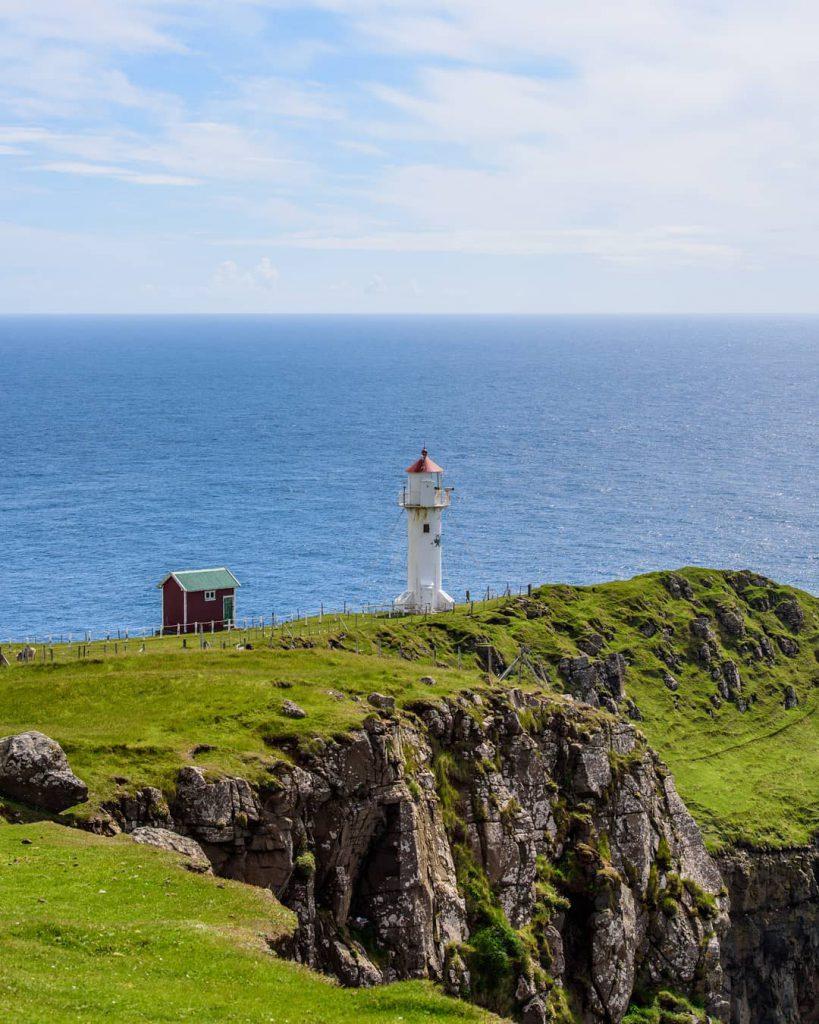Faroe Islands Akraberg Lighthouse Suduroy - Faroe Islands' most instagrammable places