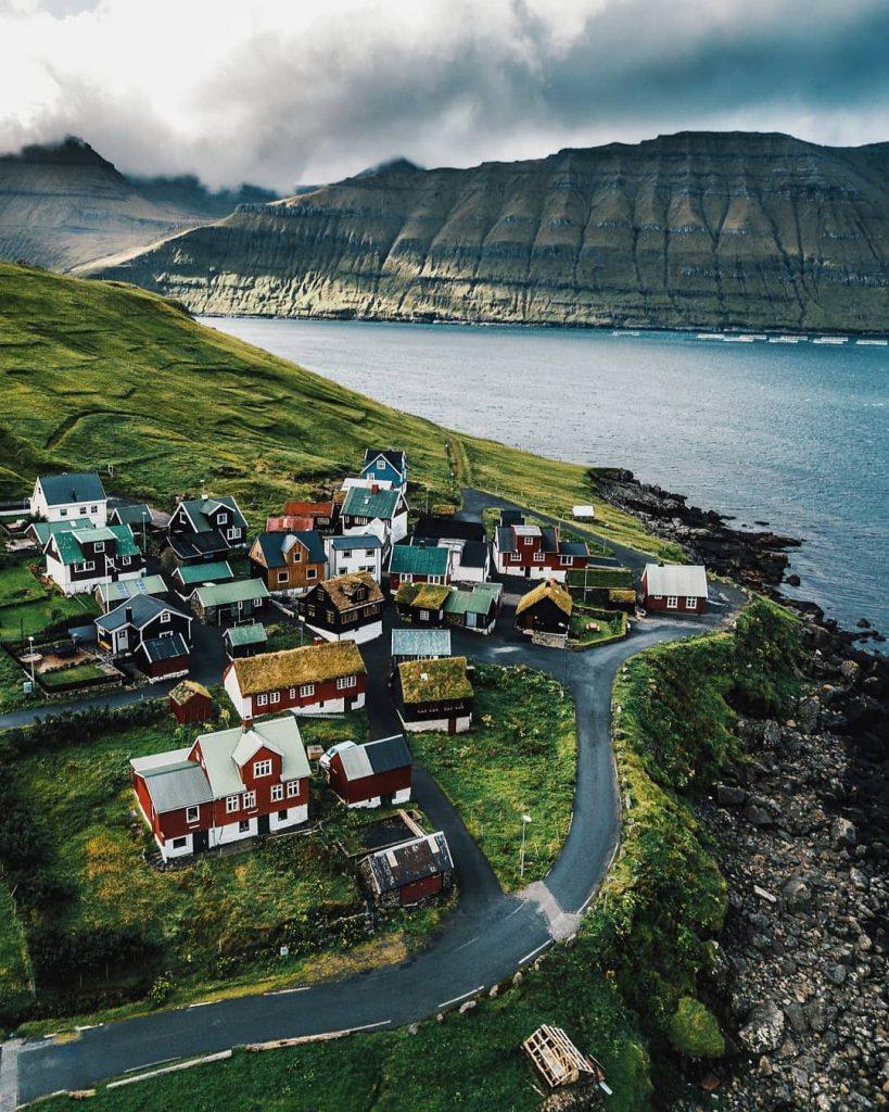 Faroe Islands Elduvik Eysturoy - Faroe Islands' most instagrammable places