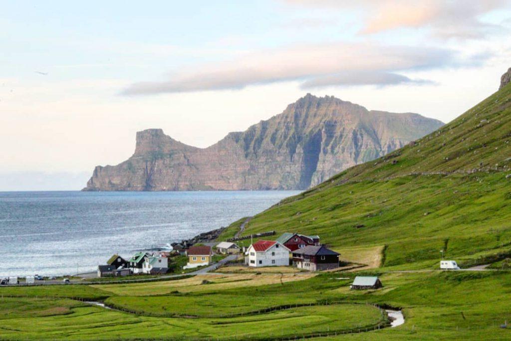 Faroe Islands Elduvik Eysturoy city - Faroe Islands' most instagrammable places