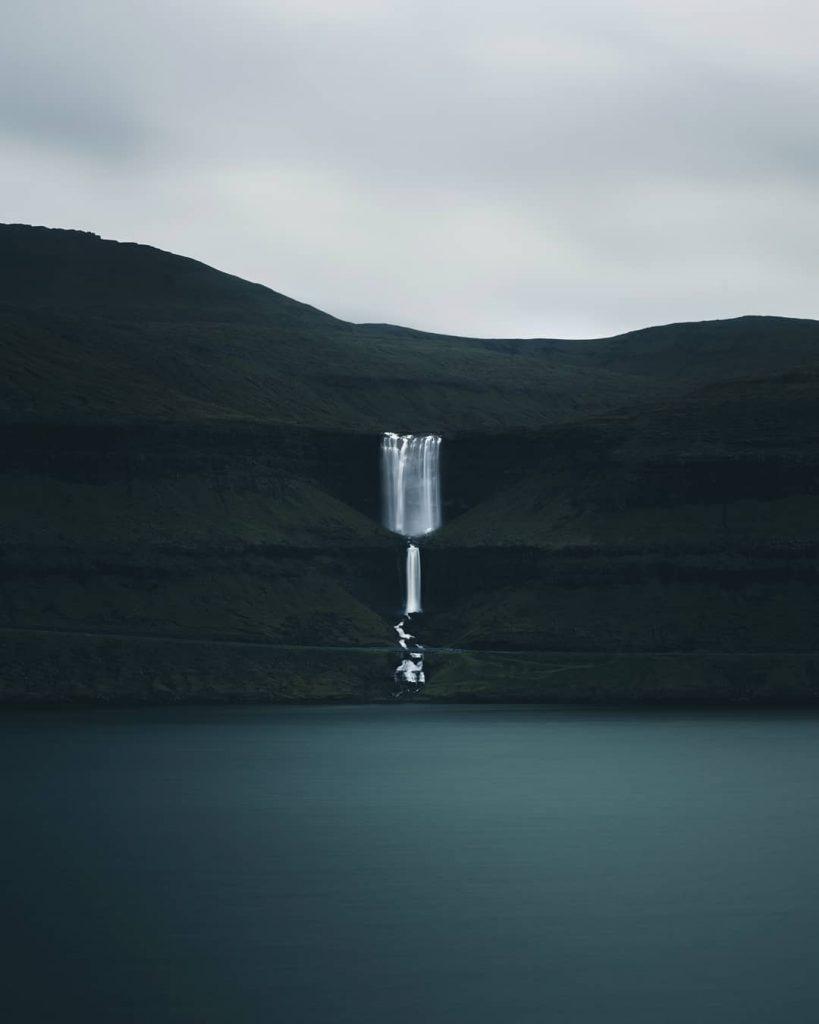 Faroe Islands Fossá Waterfall Streymoy flotodiary - Faroe Islands' most instagrammable places