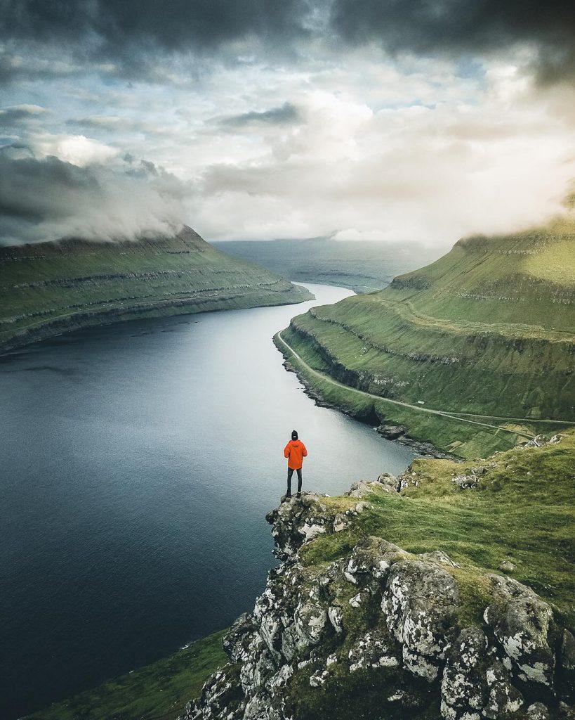 Faroe Islands Funningur Eysturoy river - Faroe Islands' most instagrammable places