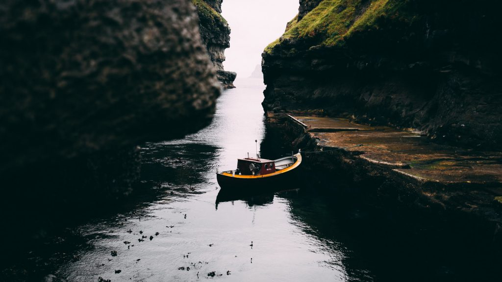 Faroe Islands Gjógv port - Faroe Islands' most instagrammable places