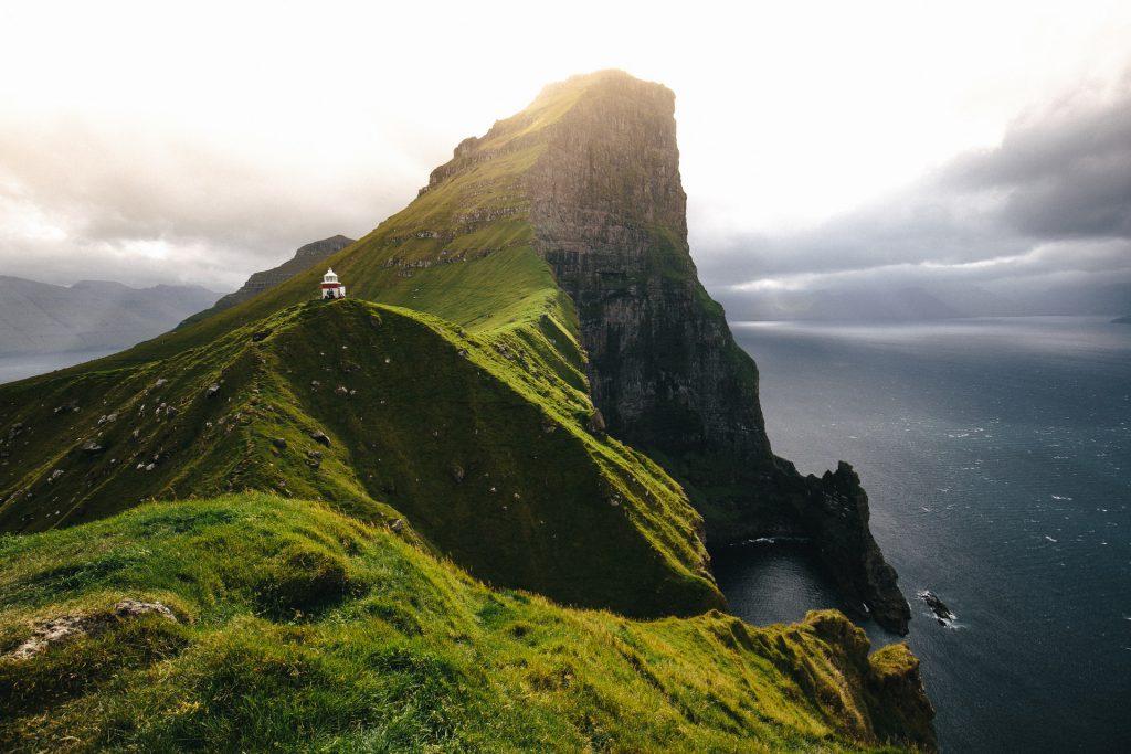 Faroe Islands Kallur Lighthouse - Faroe Islands' most instagrammable places