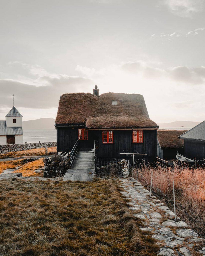 Faroe Islands Kirkjuboargardur Streymoy - Faroe Islands' most instagrammable places
