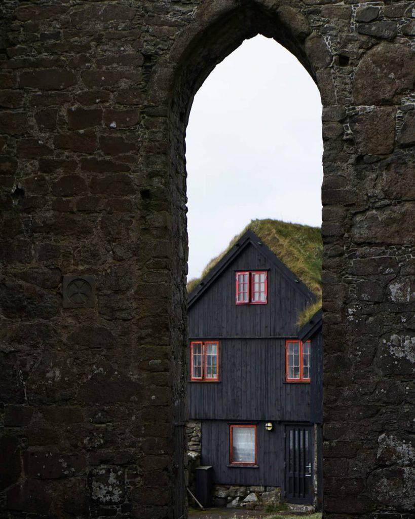 Faroe Islands Kirkjuboargardur Streymoy artsy - Faroe Islands' most instagrammable places