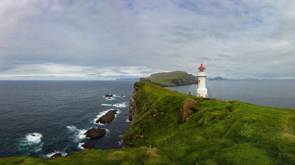 Faroe Islands Mykines Lighthouse Mykines - Faroe Islands' most instagrammable places