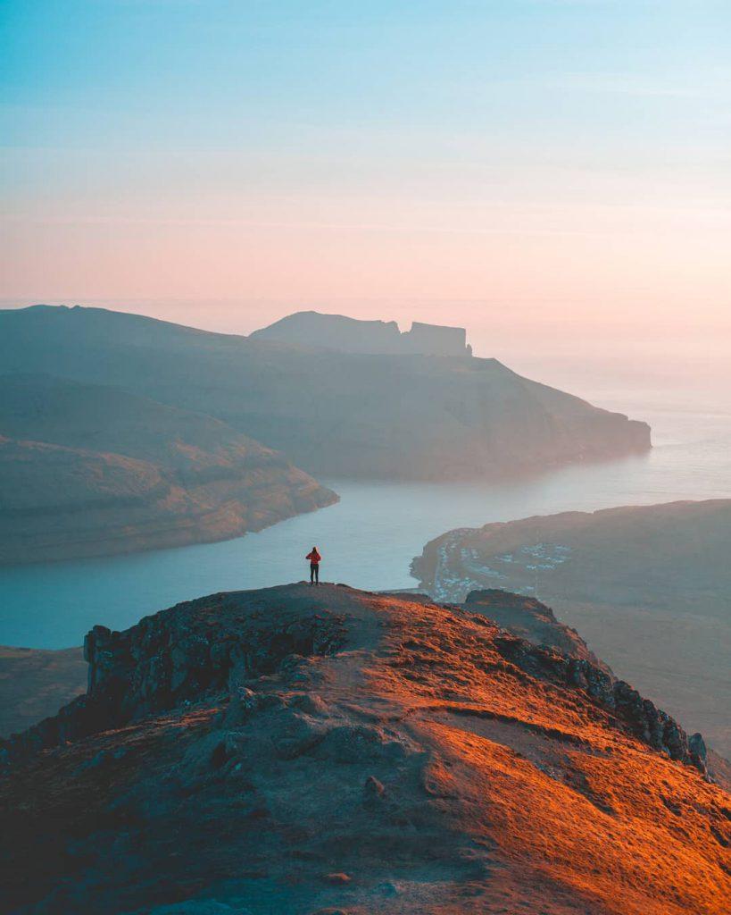 Faroe Islands Slaettaratindur Eysturoy - Faroe Islands' most instagrammable places