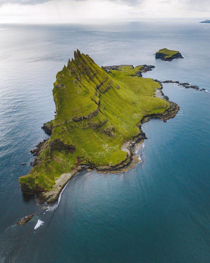 Faroe Islands Tindhólmur Vágar - Faroe Islands' most instagrammable places