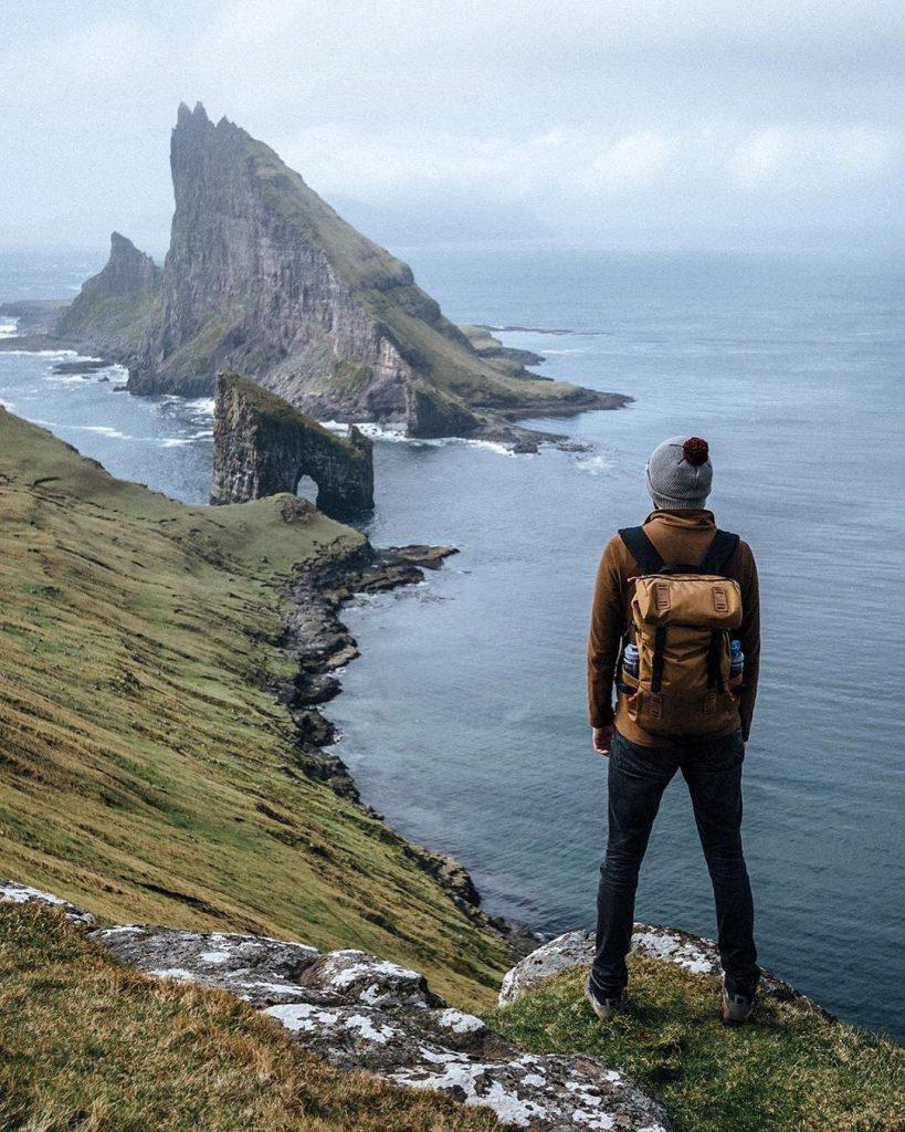 Faroe Islands Tindhólmur and Dranganir Vágar - Faroe Islands' most instagrammable places