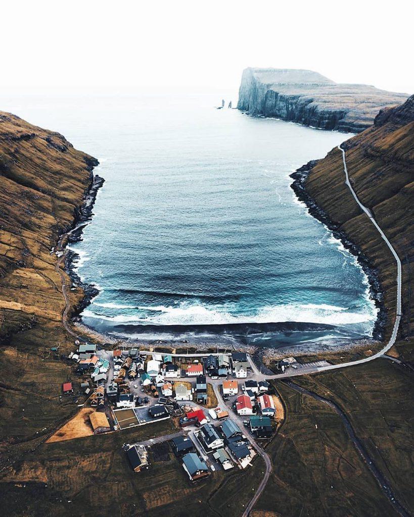 Faroe Islands Tórshavn Streymoy overview - Faroe Islands' most instagrammable places