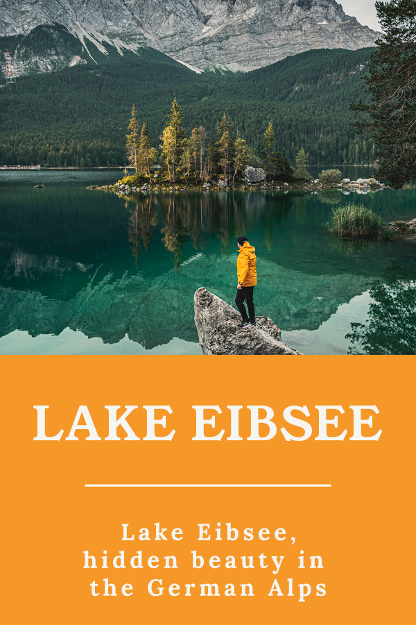 Lake Eibsee - Lake Eibsee, hidden beauty in the German Alps