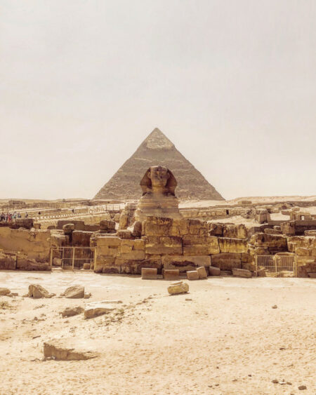 The Great Pyramid of Giza Sphinx - The Great Pyramid of Giza, the gateway to ancient Egypt