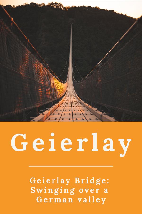 Geierlay Bridge - Hängeseilbrücke Geierlay: Swinging over a German valley
