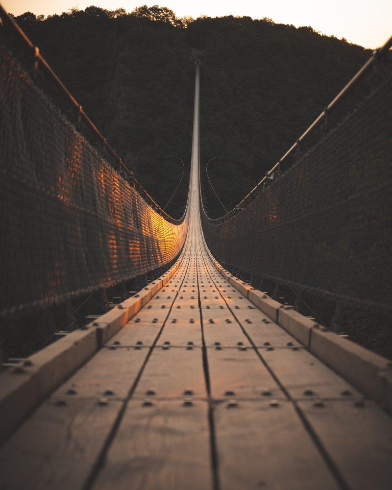 Hängeseilbrücke Geierlay: Swinging over a German valley