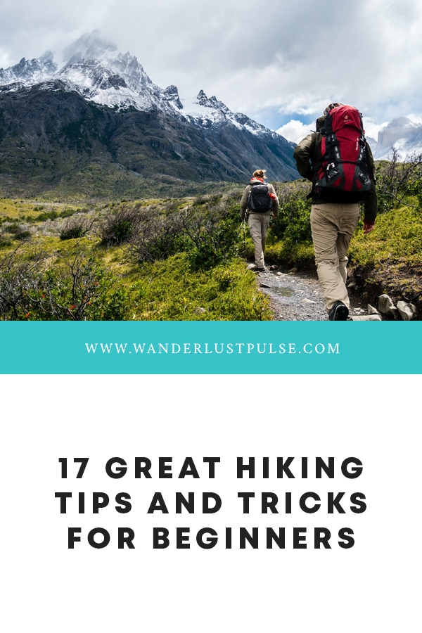Hiking tricks - 17 great hiking tips and tricks for beginners