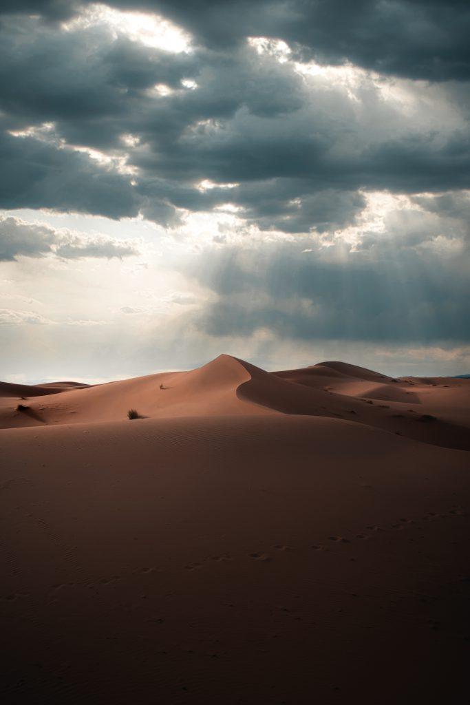 Sahara Desert dunes - Stargazing in the Sahara desert