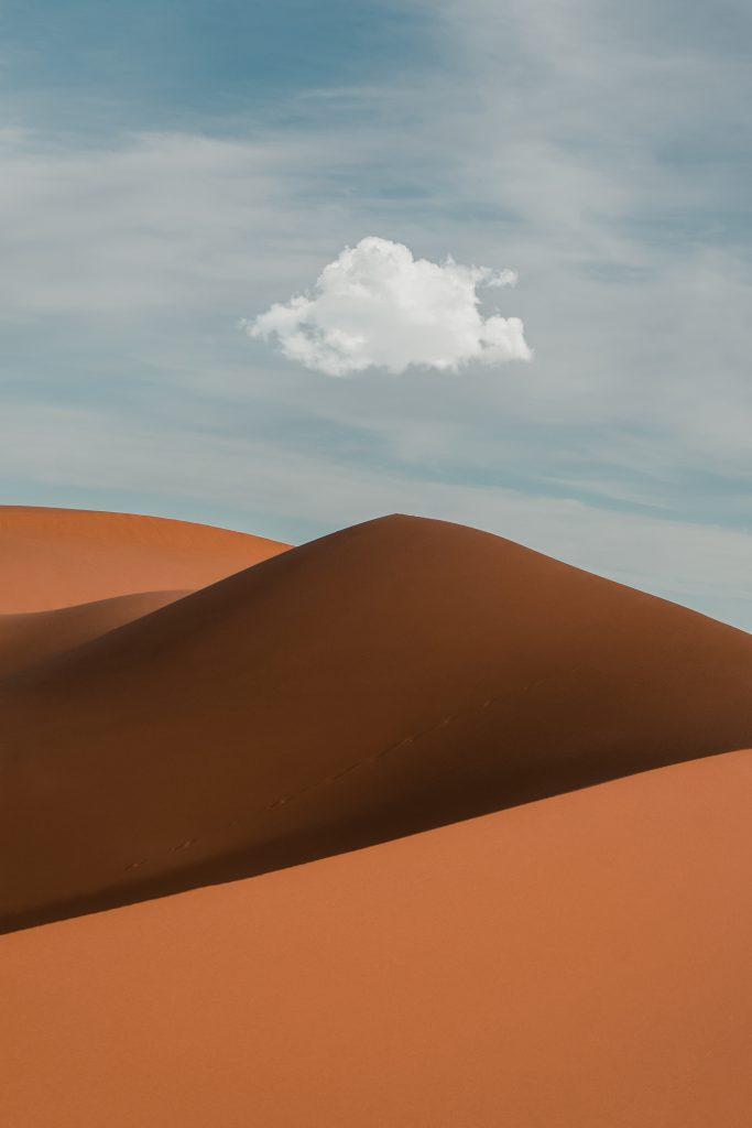 Sahara Desert sand dunes - Stargazing in the Sahara desert