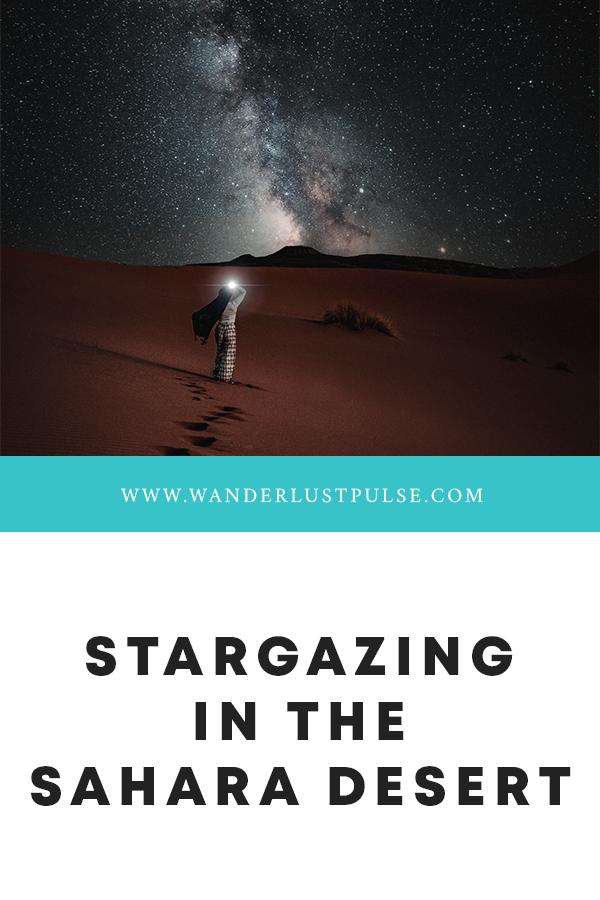 Stargazing in the Sahara desert - Stargazing in the Sahara desert