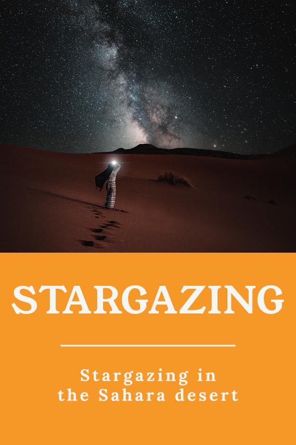 Stargazing the Sahara desert - Stargazing in the Sahara desert