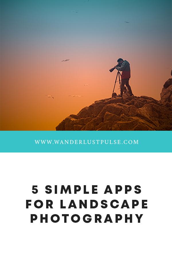Landscape photography apps - 5 simple apps for landscape photography