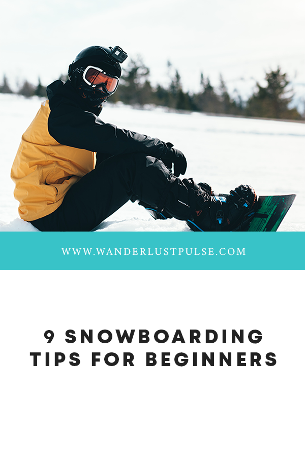 Snowboard tips - 9 Snowboarding tips for beginners