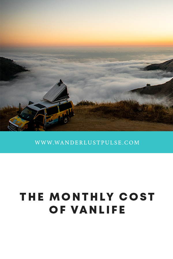 Vanlive Cost - The monthly cost of vanlife