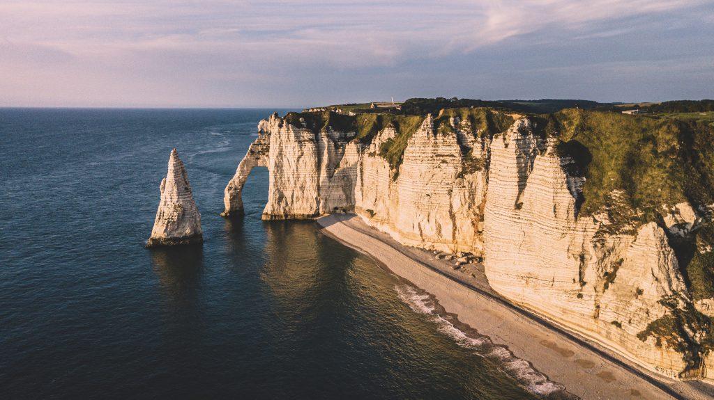 Étretat Normandy port daval - Étretat, the most beautiful cliffs of Normandy