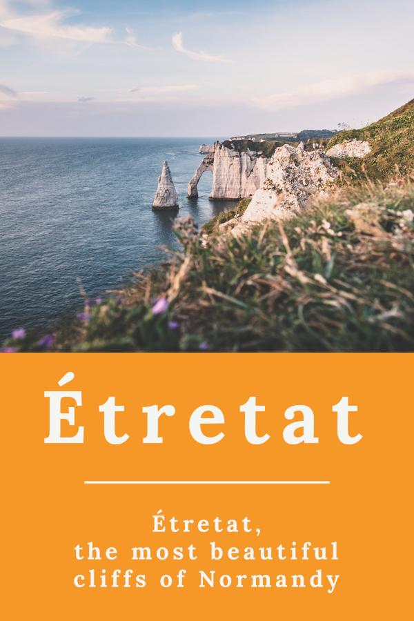 Étretat - Étretat, the most beautiful cliffs of Normandy