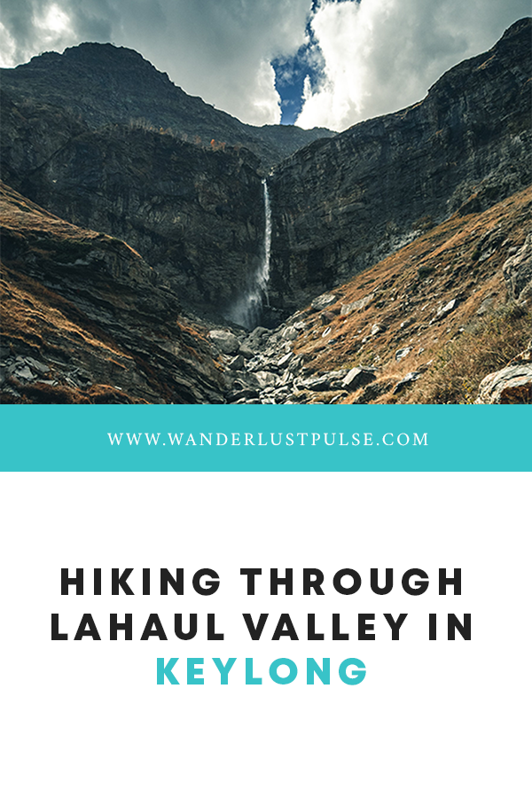 Lahaul Valley - Hiking through Lahaul Valley in Keylong