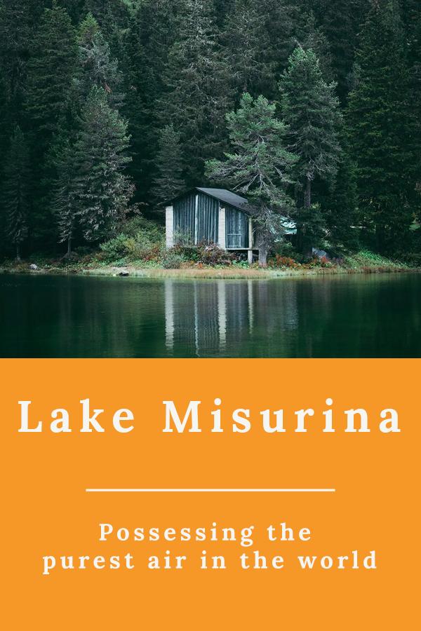 Lake Misurina 2 - Lake Misurina, possessing the purest air in the world