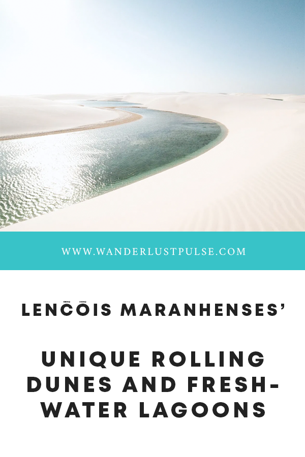 Lençóis Maranhenses 1 - Lençóis Maranhenses', unique rolling dunes and freshwater lagoons
