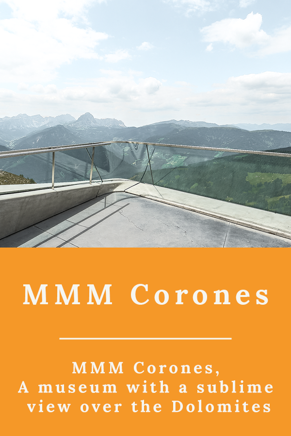 MMM Corones - MMM Corones, a museum with a sublime view over the Dolomites