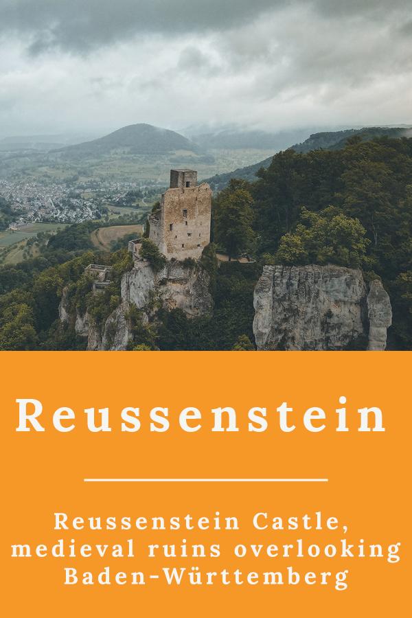 Reussenstein Castle - Reussenstein Castle, medieval ruins overlooking Baden-Württemberg