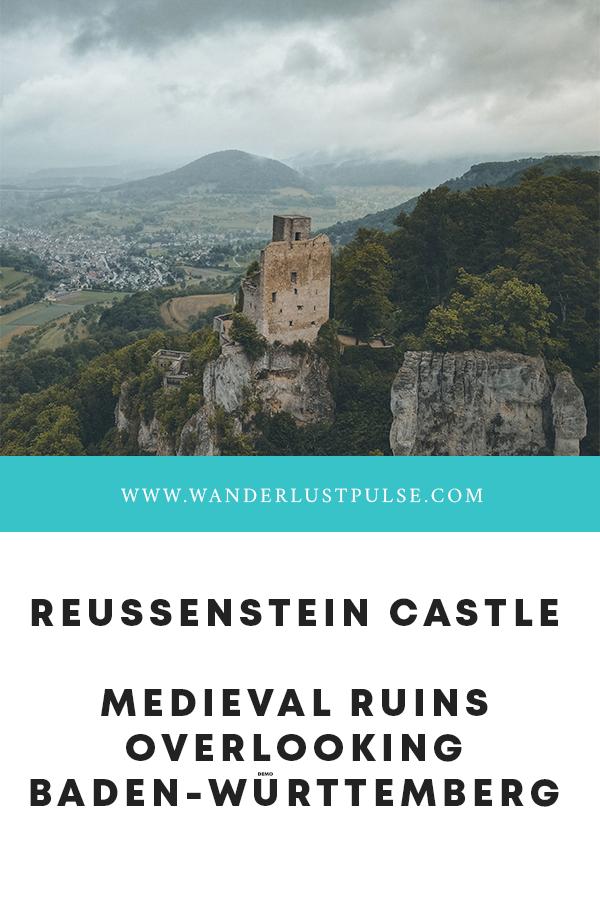 Reussenstein - Reussenstein Castle, medieval ruins overlooking Baden-Württemberg