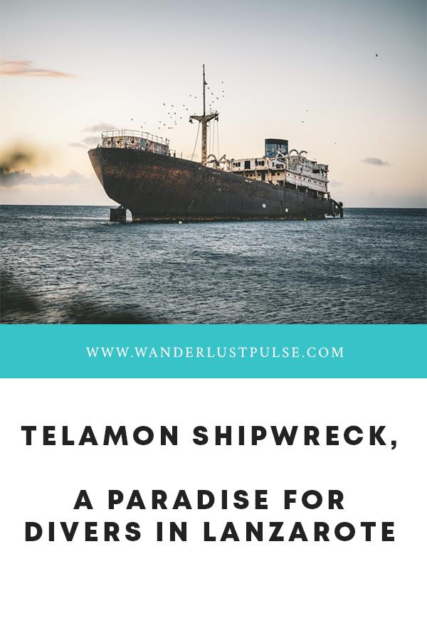 Telamon - Telamon Shipwreck, a paradise for divers
