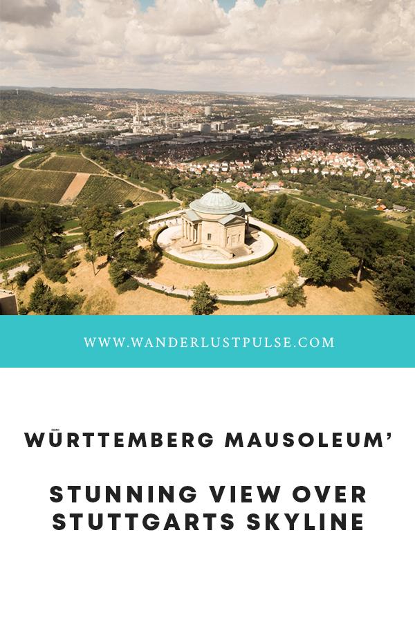 Württemberg Mausoleum - Württemberg Mausoleum' stunning view over Stuttgarts skyline