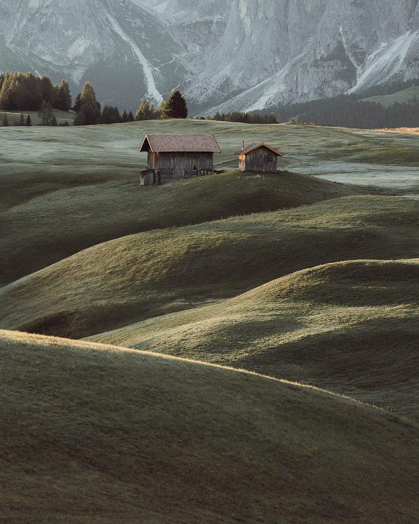 Alpe Di Siusi Cabin - Alpe Di Siusi, housing the most known cabins in the Dolomites