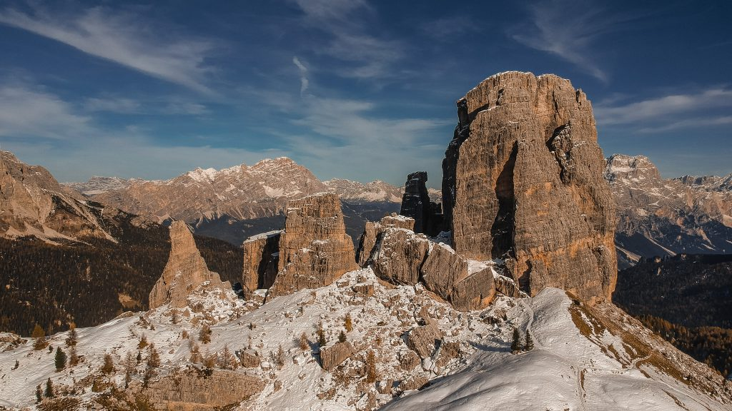 Cinque Torri - Dolomites Itinerary: the 5 most stunning hikes to discover in 2021