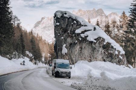 Falzarego Pass, Dolomites, Italy
